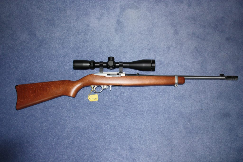 This image has an empty alt attribute; its file name is 30-294-Ruger-10.22-stainless-1024x683.jpg